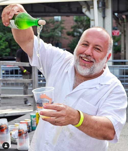 Jimmy Carbone, host for Pastrami on Rye. Photo:  Miguel Rivas Photography/Instagram