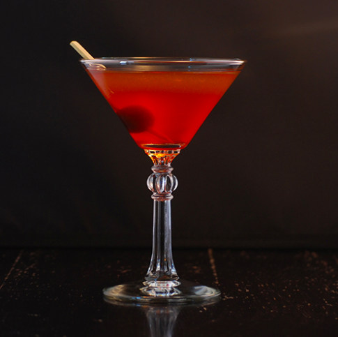Kings of Manhattan, a drink that makes you feel like it sounds. Photo:  NY Distilling Co.