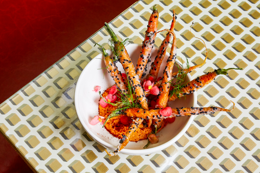 Carrots in a Bowl. Remember to chew quietly if you're seeing a show please. Photo: The Canary Club