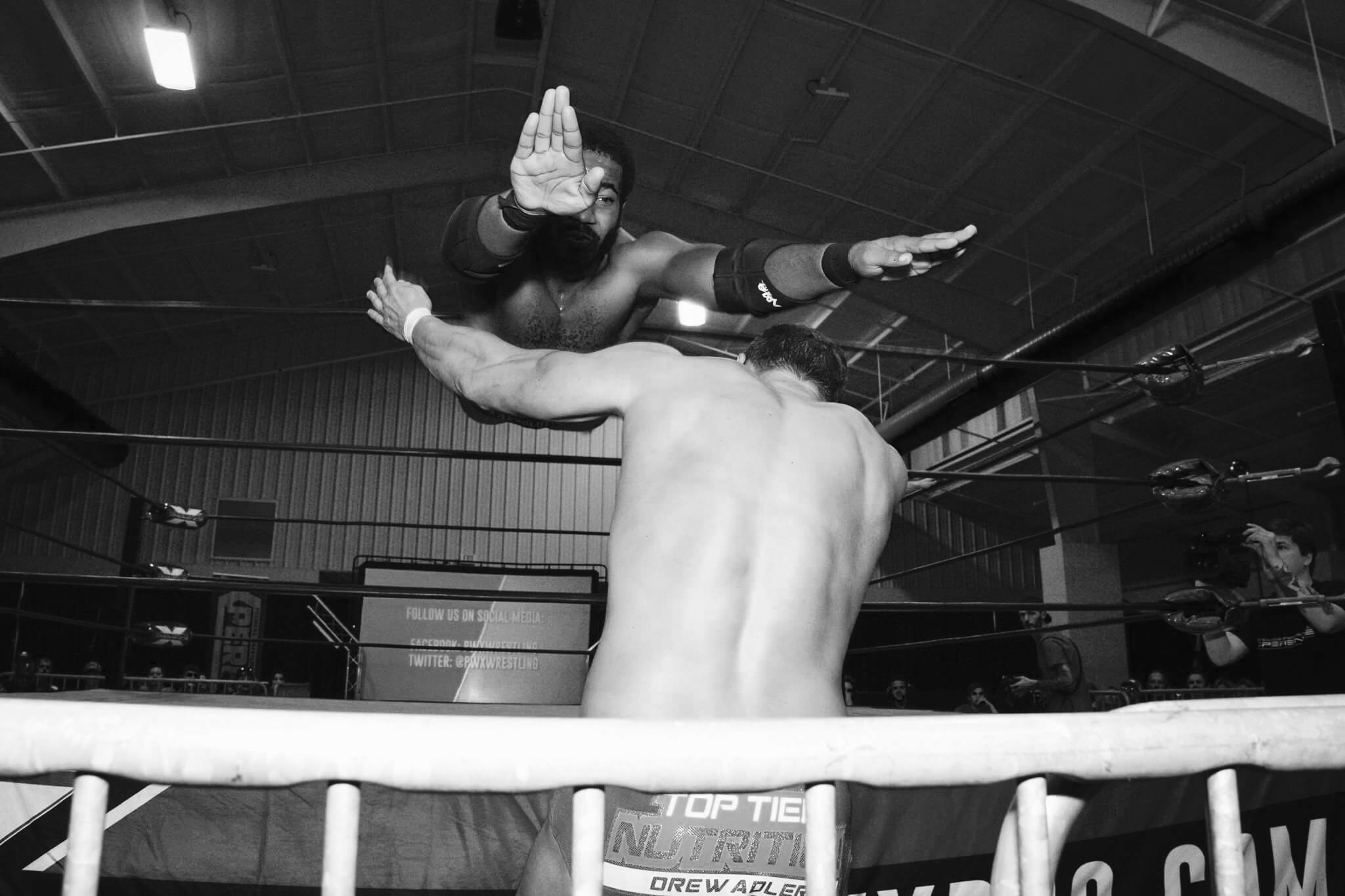 "vs ""The Premiere Athlete"" Drew Adler, PWX iTV Championship Match (10/21/2017)"