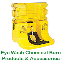 Eye Wash Chemical Burn Products & Accessories