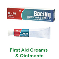 First Aid Creams & Ointments