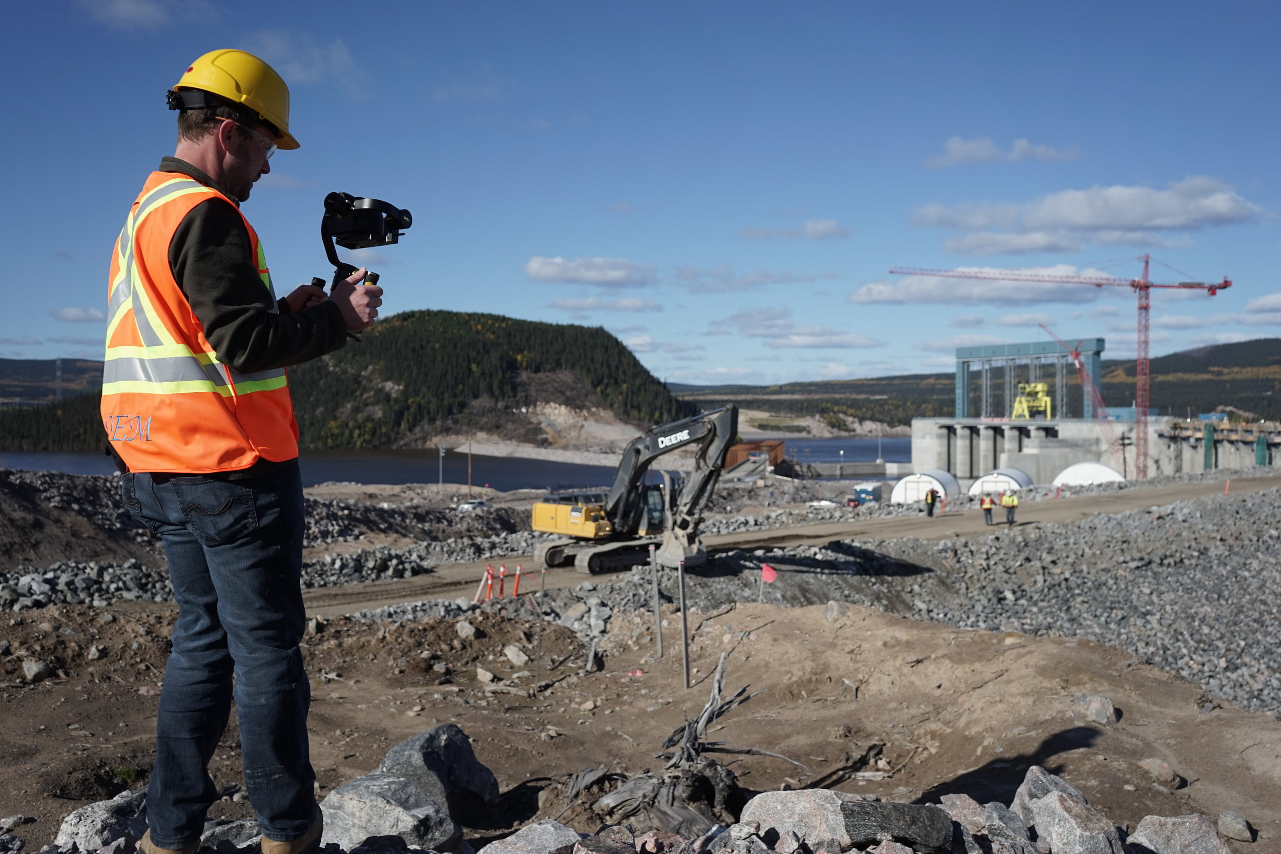 Industrial Media Production St. John's Newfoundland - VR AR 3D and 360