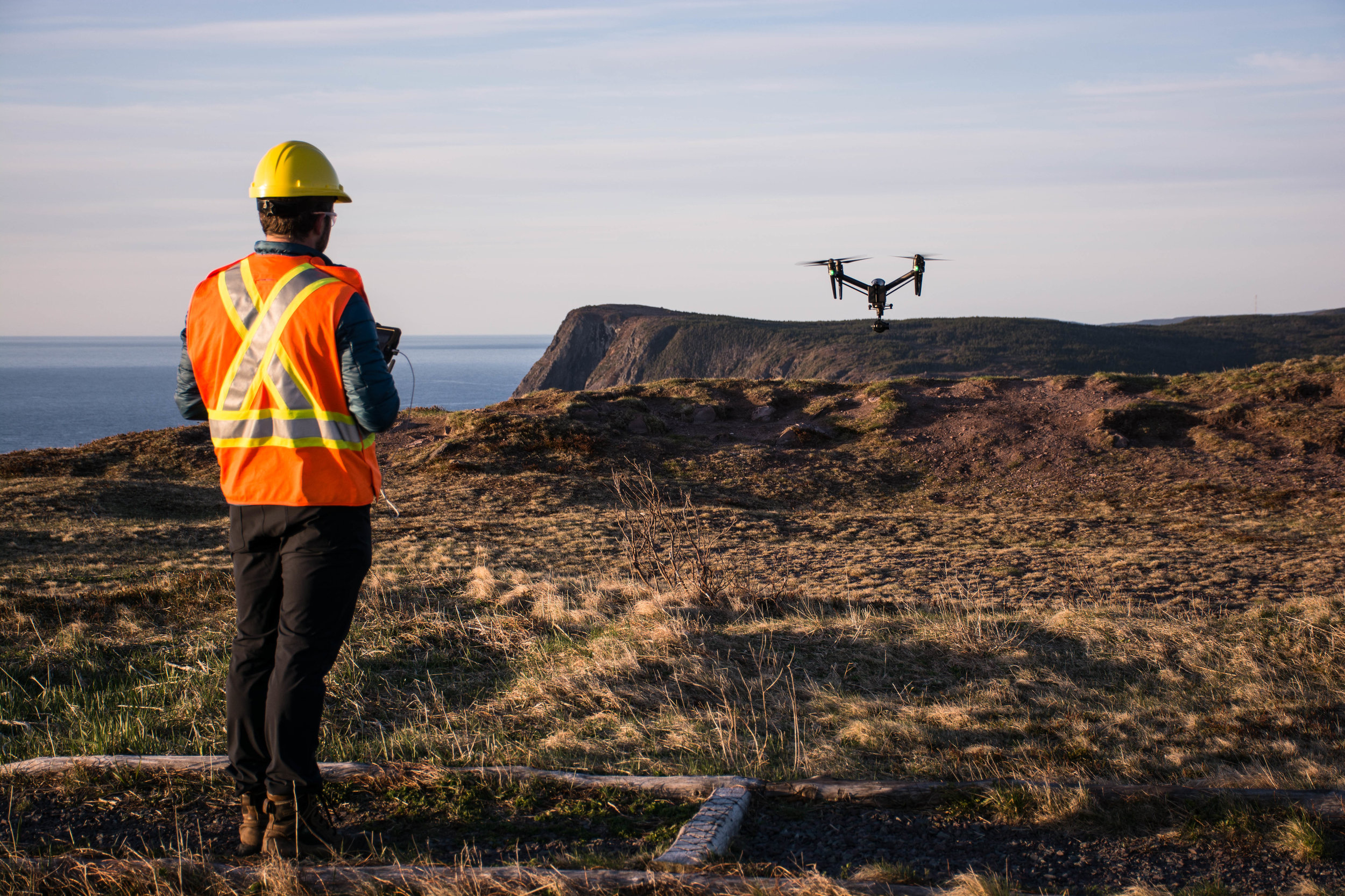 Drone, UAV, UAS services including inspections and aerial surveys in Newfoundland and Labrador