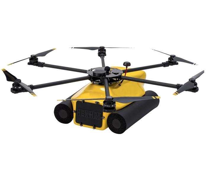 QUADH20, Water drone NL, Industrial UAV