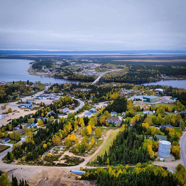 Cozy afternoon in NWR Labrador 🌥️ #labrador #explorenl #happyvalleygoosebay #djimavicpro2 #dronegram