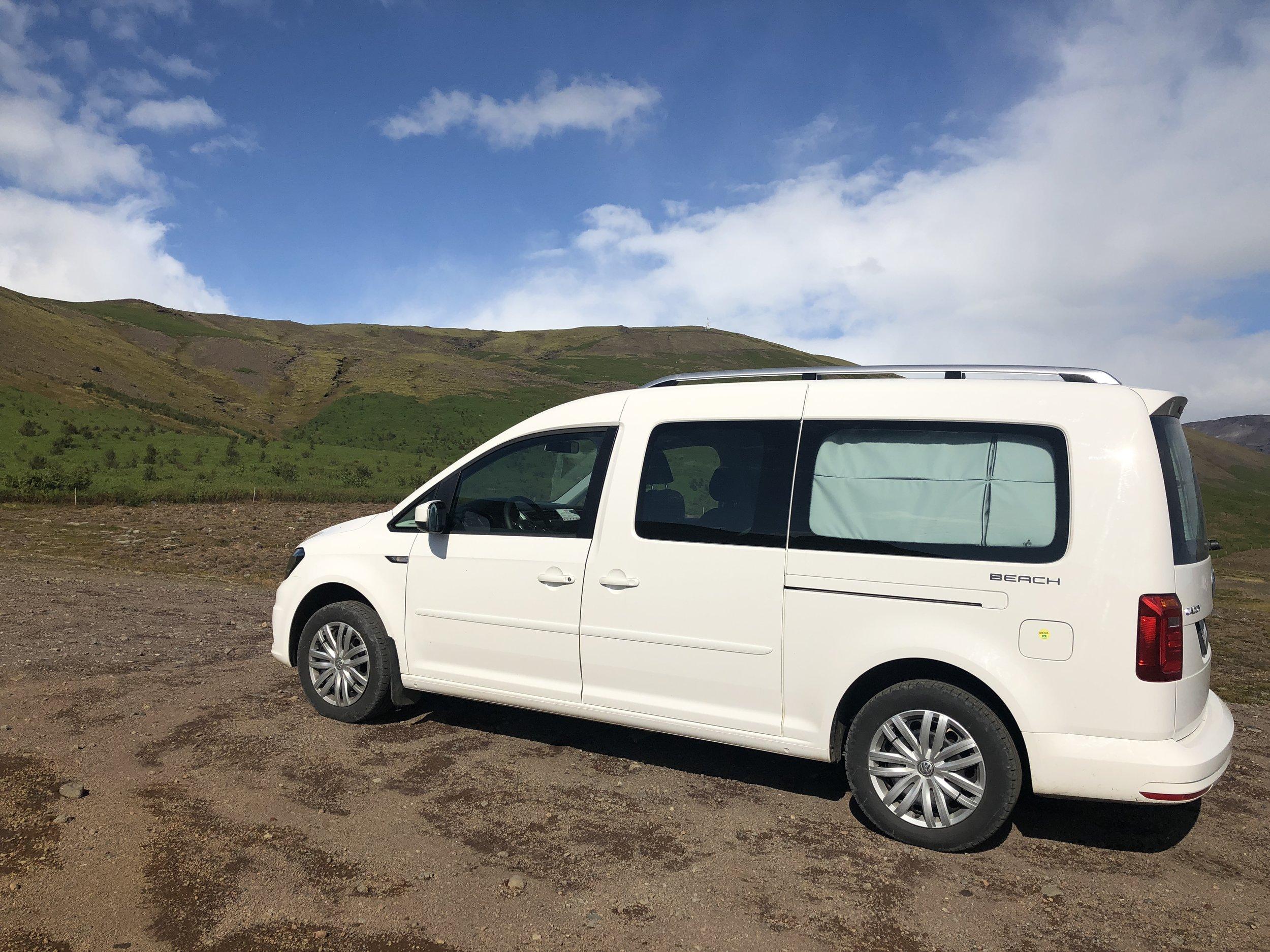 Iceland-camper-van