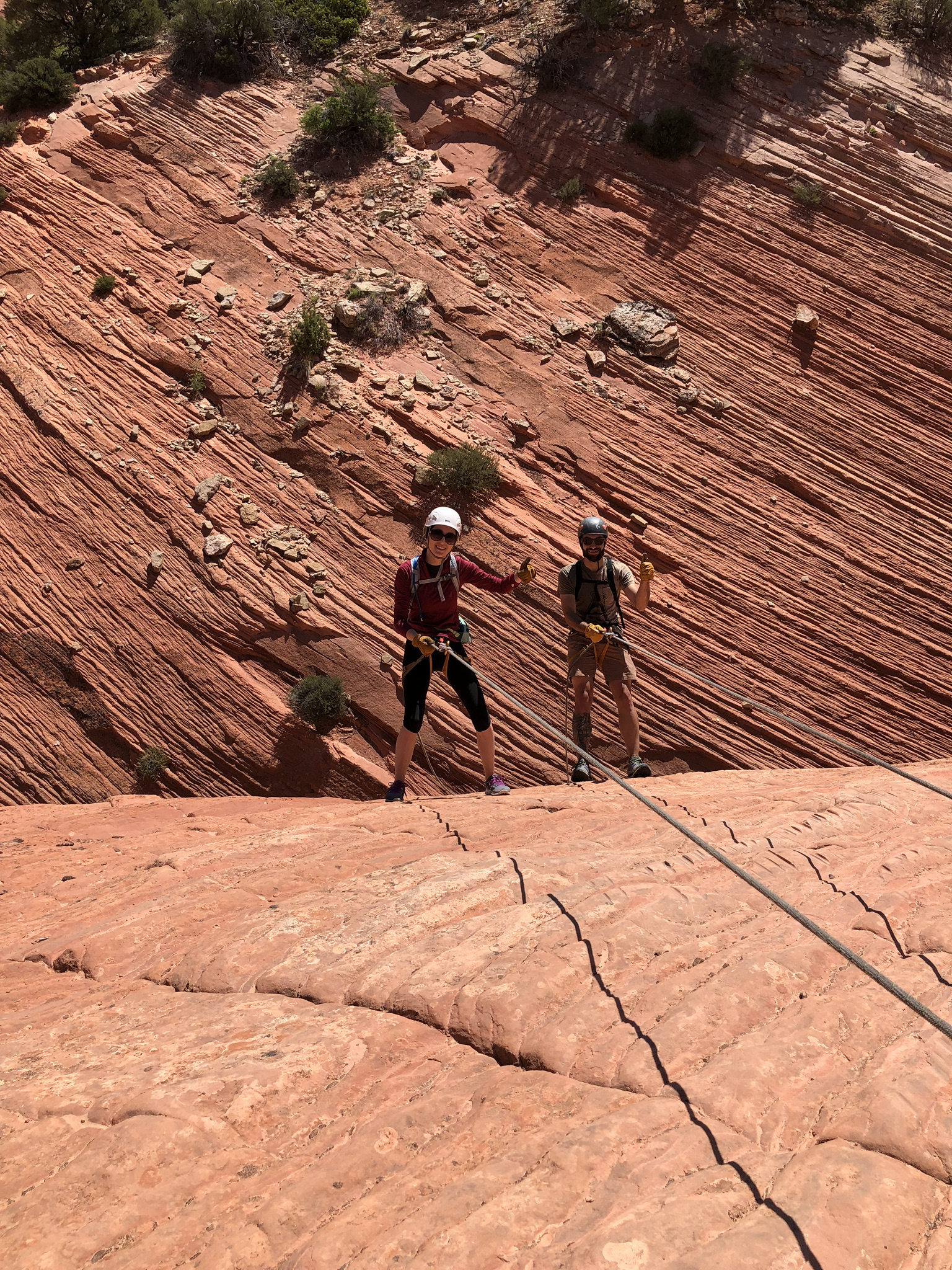 out-of-office-adventure-slot-canyon-hiking-rappeling