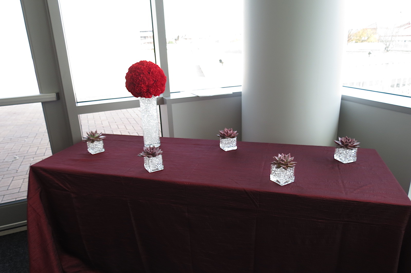 Party at Riverfront Museum // Florals and Linens by Michele's