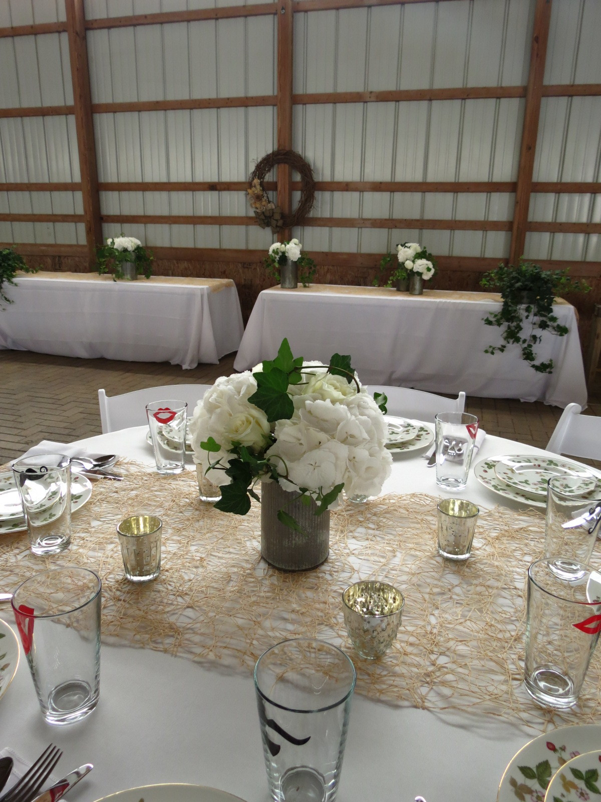 Wedding Rehearsal Dinner // Private Barn