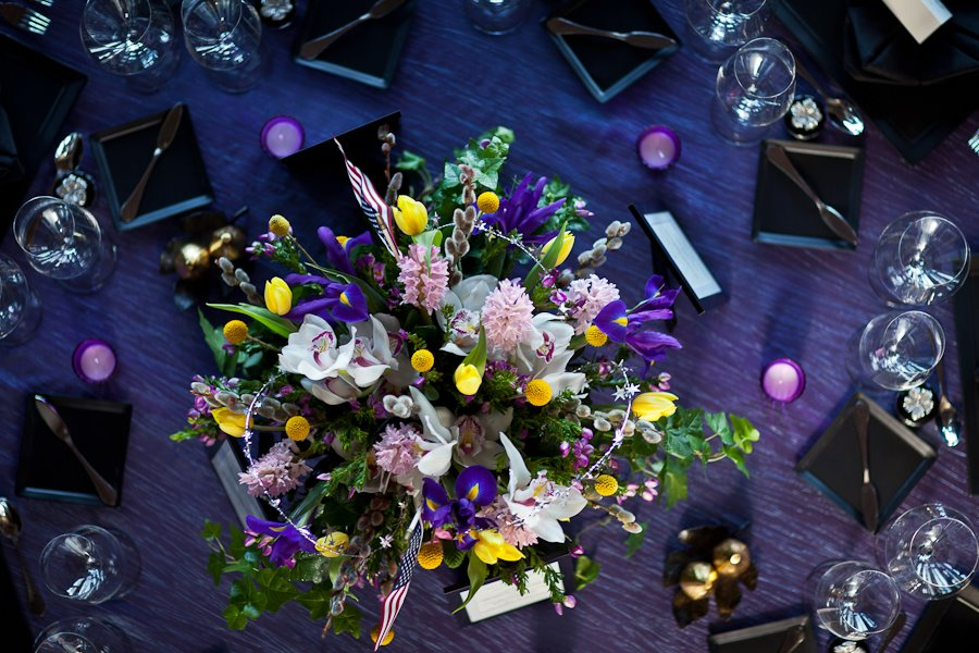 Mitt Romney Event at Private Residence // Linens & Floral Decor by Michele's //  Keith Cotton Photography