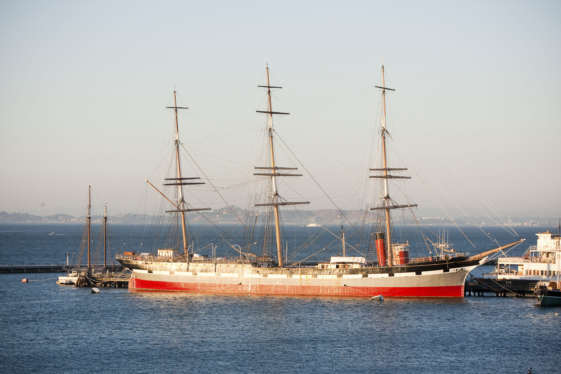 SF Maritime Eureka & Balclutha