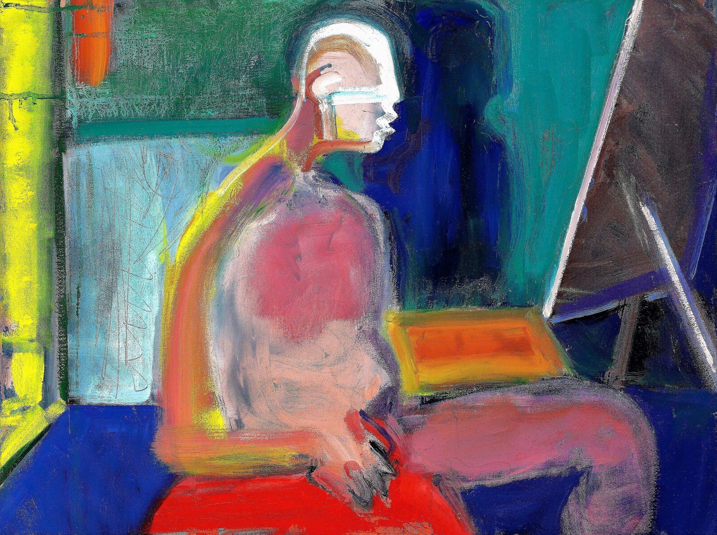 "#5, 2018, Oil on Canvas, 18 x 24"""