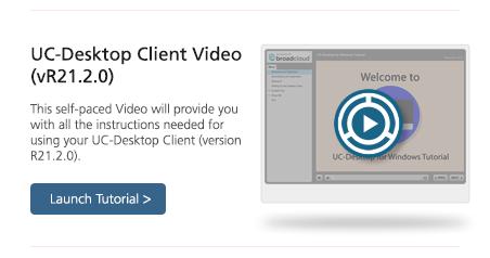 Video UC Desktop