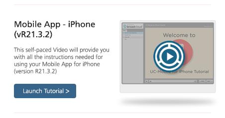 Video Communicator iPhone