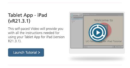 Video Communicator iPad