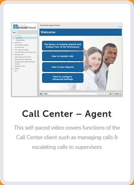 Call Center Agent Tutorial