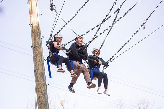 Swingin' into the weekend like... We can't wait to see you this Sunday at 10:45am in the Lower Landing!