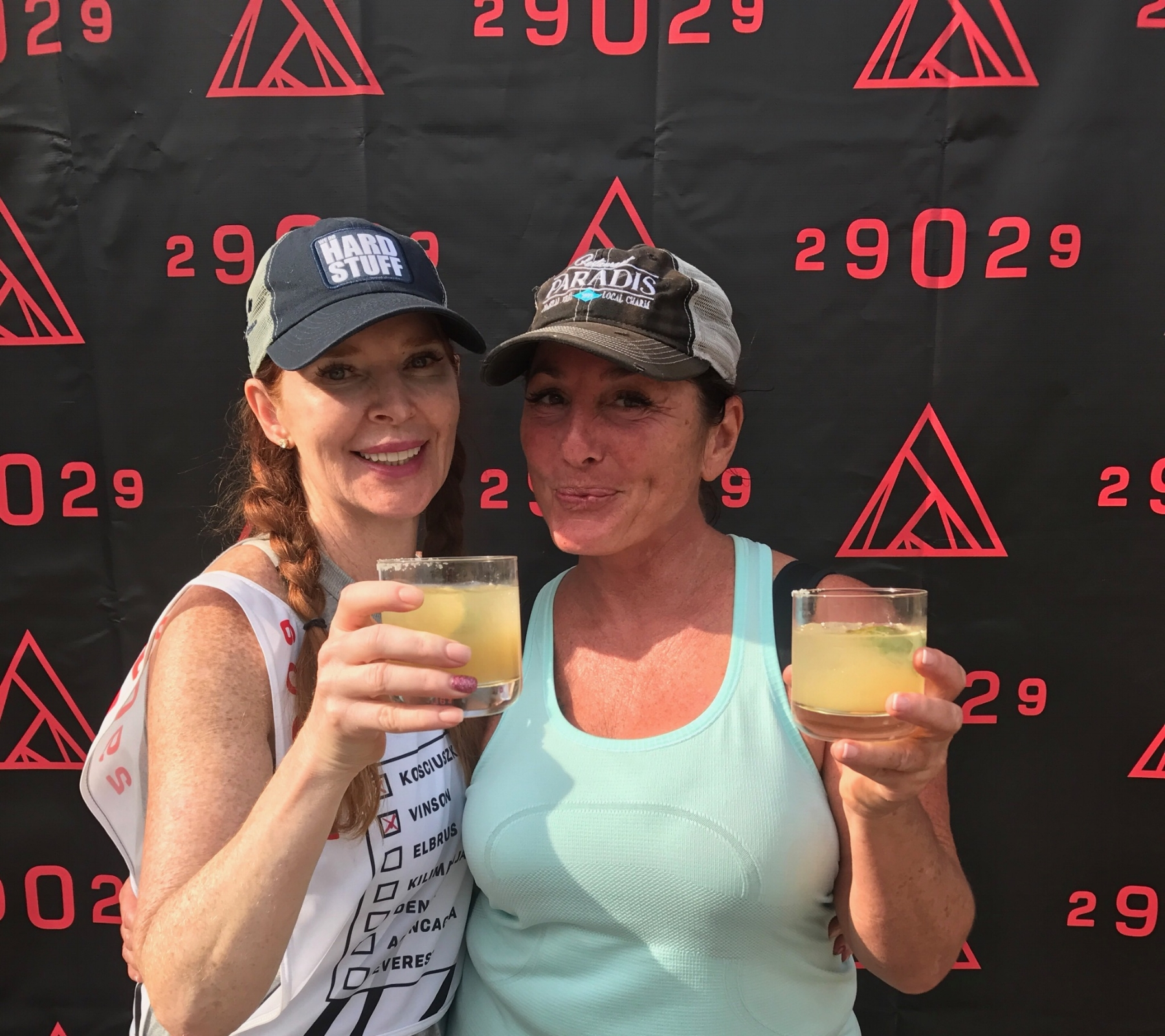 A celebratory cocktail with Linda to toast an amazing experience!
