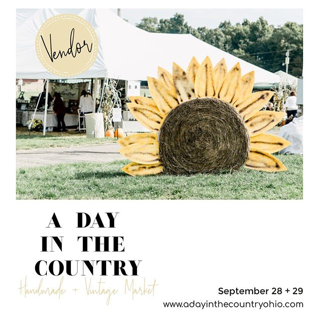 Where's all my ADITC vendors at?! You guys I can't wait! @adayinthecountryohio #adotcohio #aditc2019