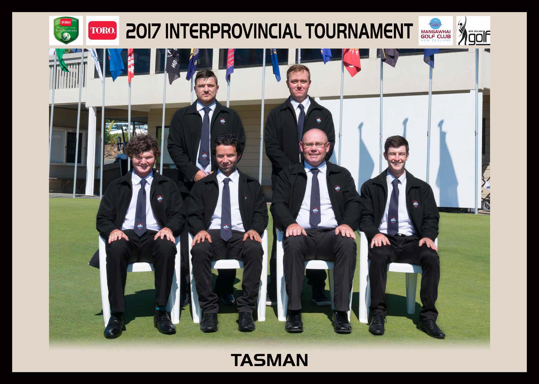 Tasman 2017 NZ Toro Representative Team