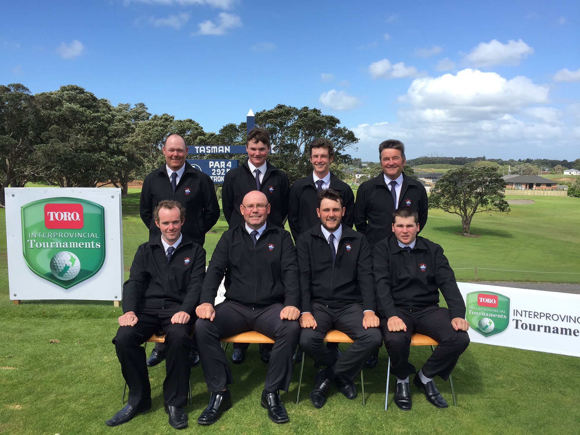 Tasman 2016 NZ Toro Representative Team