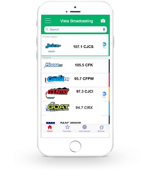 Broadcaster Multi Station App