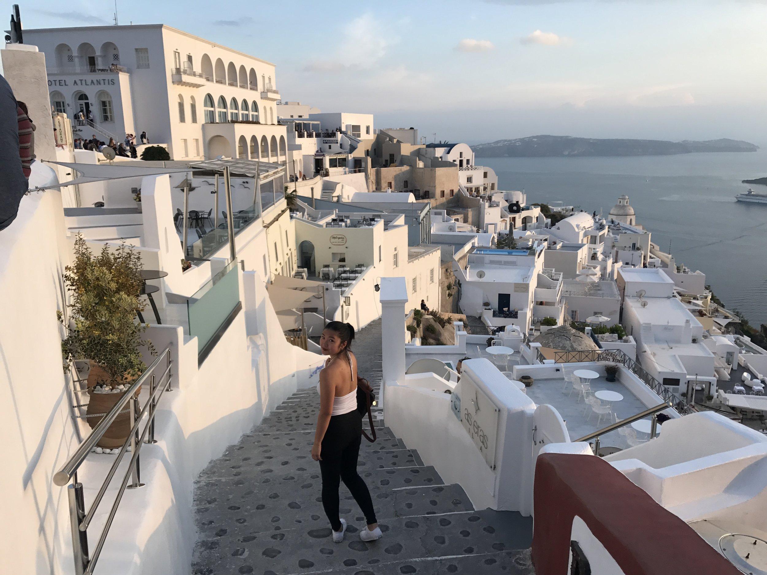 |  Greece  |  Athens, Santorini
