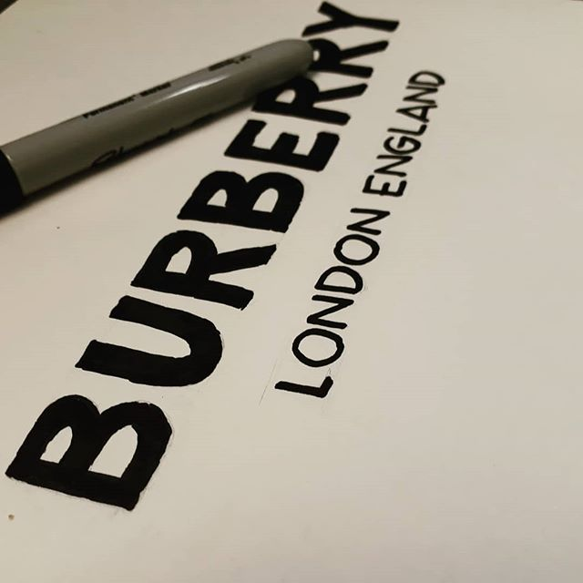 @burberry rebrand.  #branddevelopment #brandstudy  #branding  #london #fashion #petersaville #burberry #logodesigner #identity #fashiongram #design #fashioninspo #sharpee #lettering #graphicdesign #composition #sketchbook #sketch #creativeagency #creativedirector #fashionista #plaid #brandidentity #identitydesign #designer #logomark #fashionbrand #england