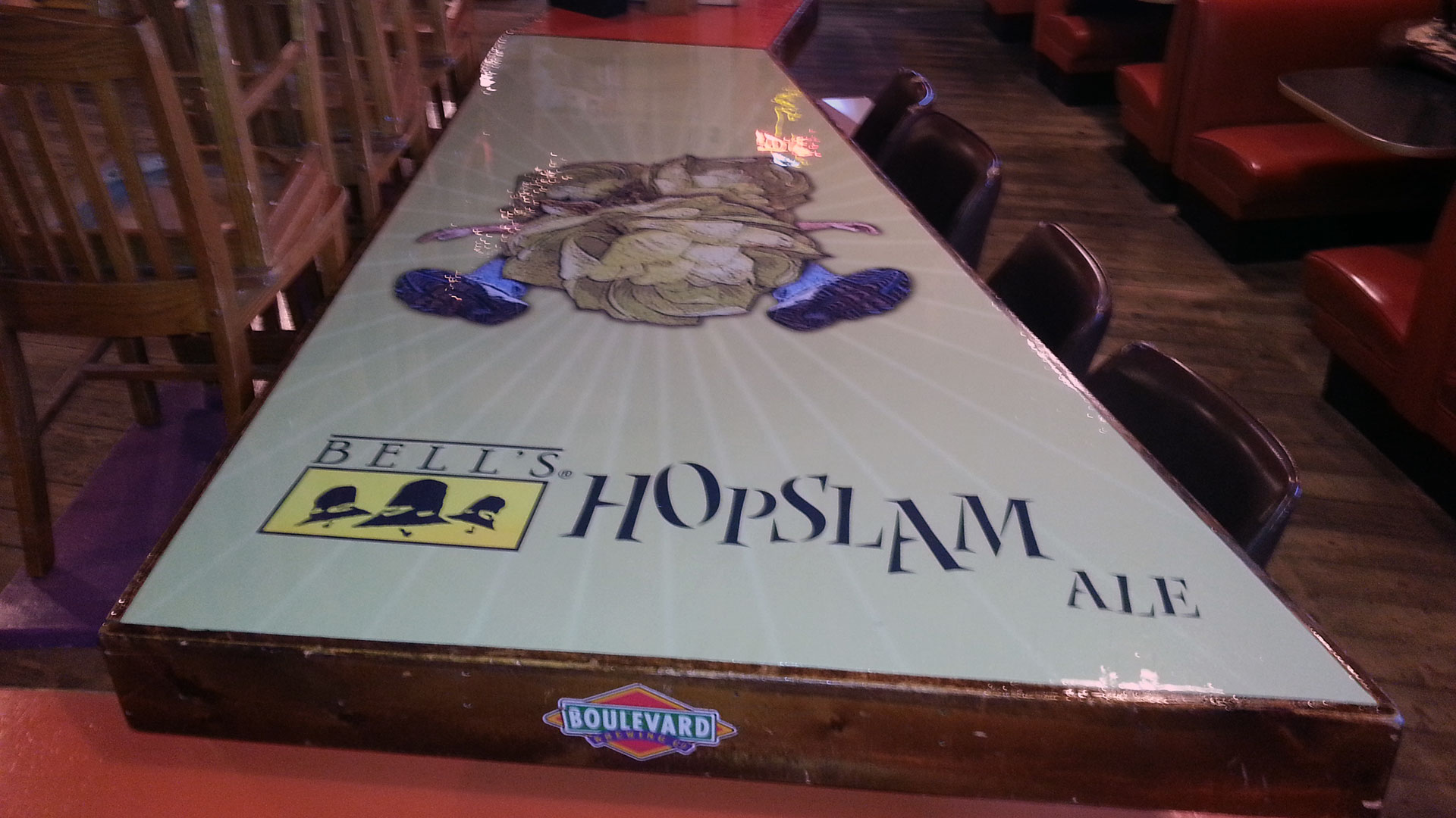 El Bait Shop Table