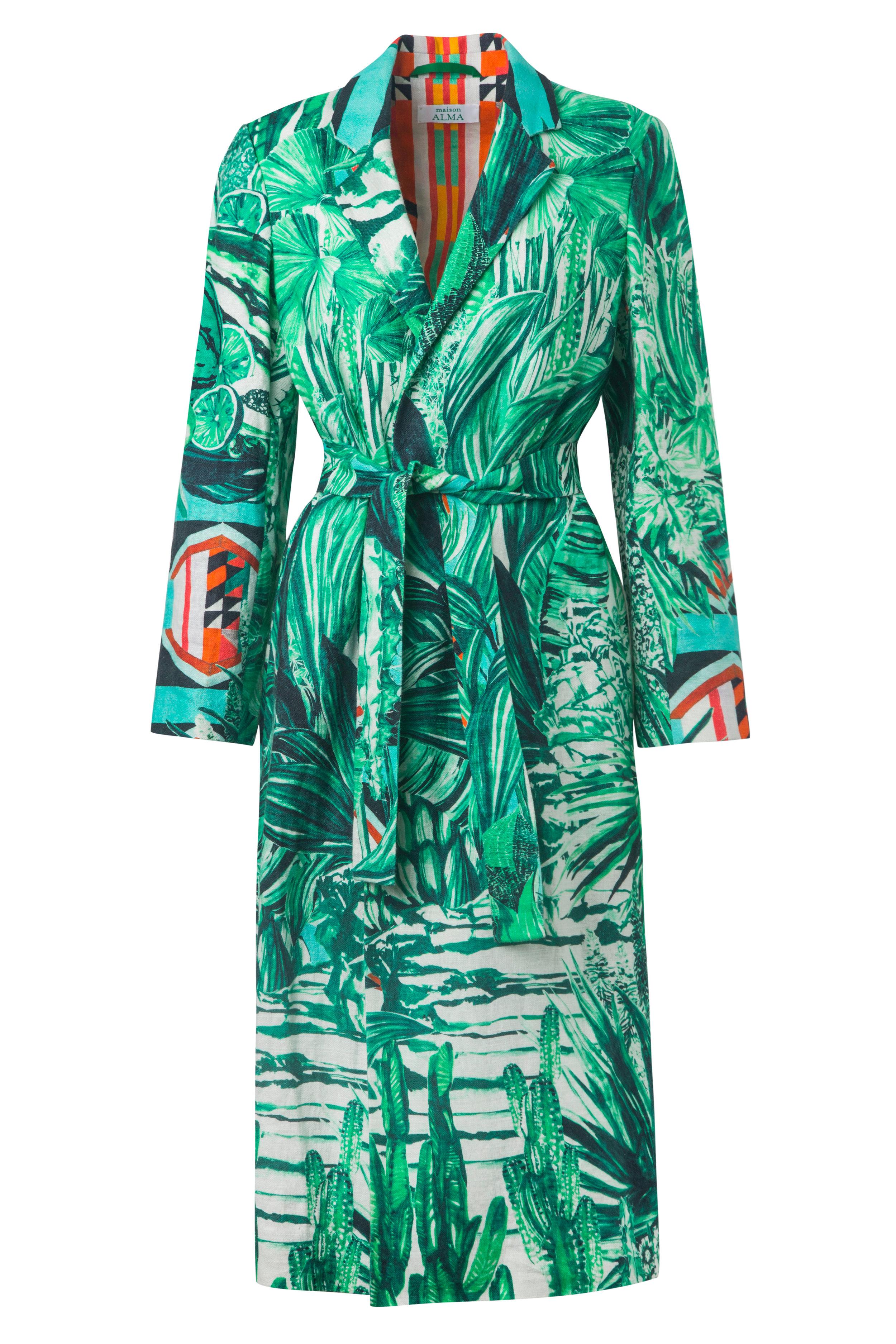 La Jungla  Kimono Wrap Coat