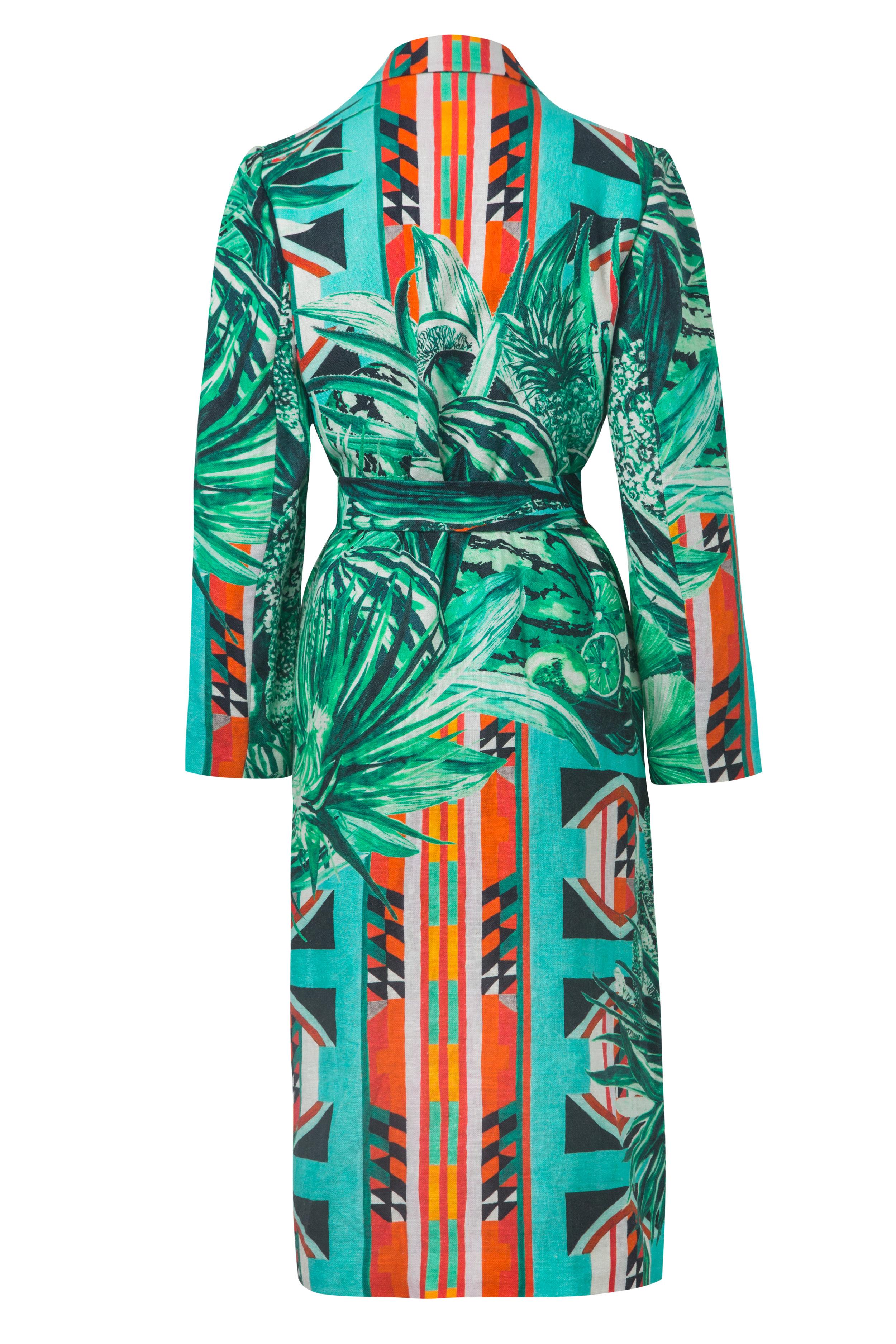 La Jungla - Back  Kimono Wrap Coat