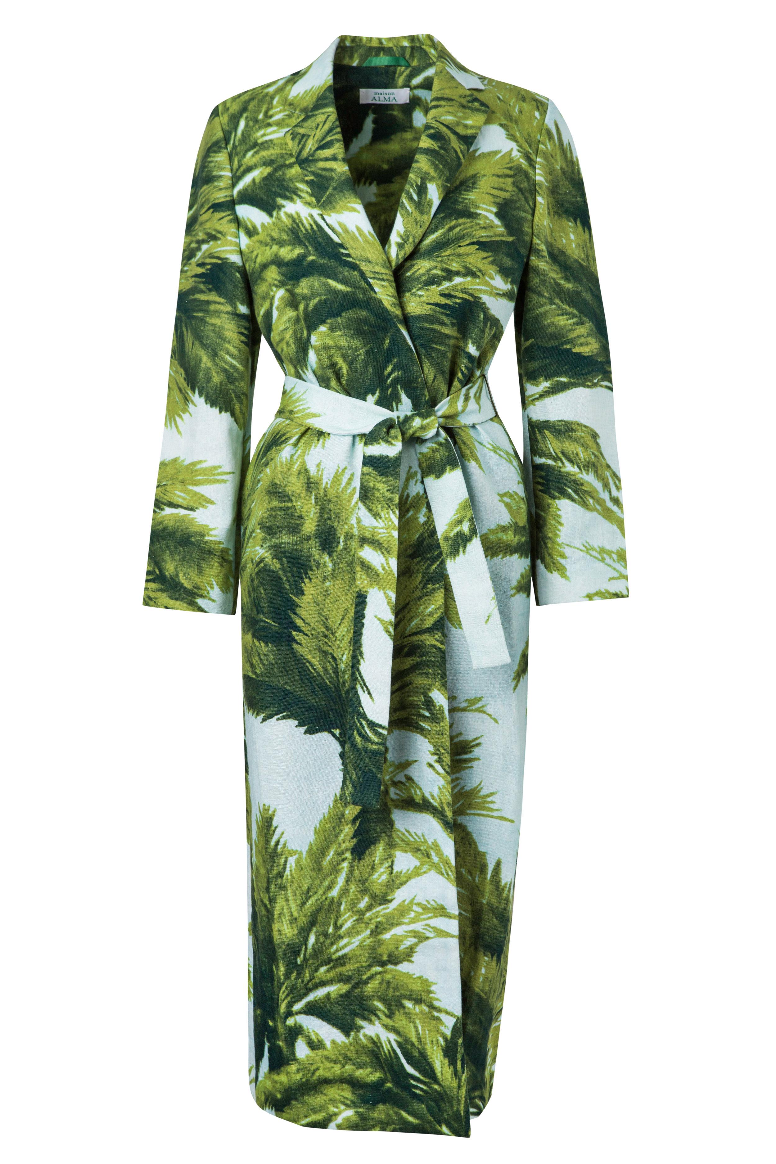La Palma  Kimono Wrap Coat
