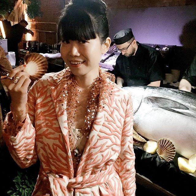 LEAF GREENER - Coral Kimono  #Editor #FashionReporter #Entrepreneur #almagirl #girlboss  @ La Biennale di Venezia