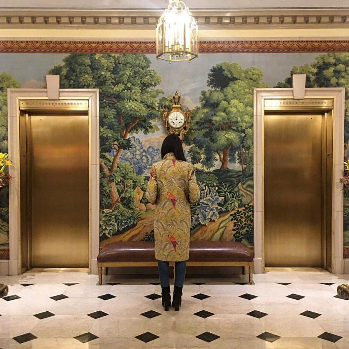 KELLY TALAMAS - Dos Loros Button Down Coat  #creativedirector #talentcorner #almagirl #girlboss  @ New York City