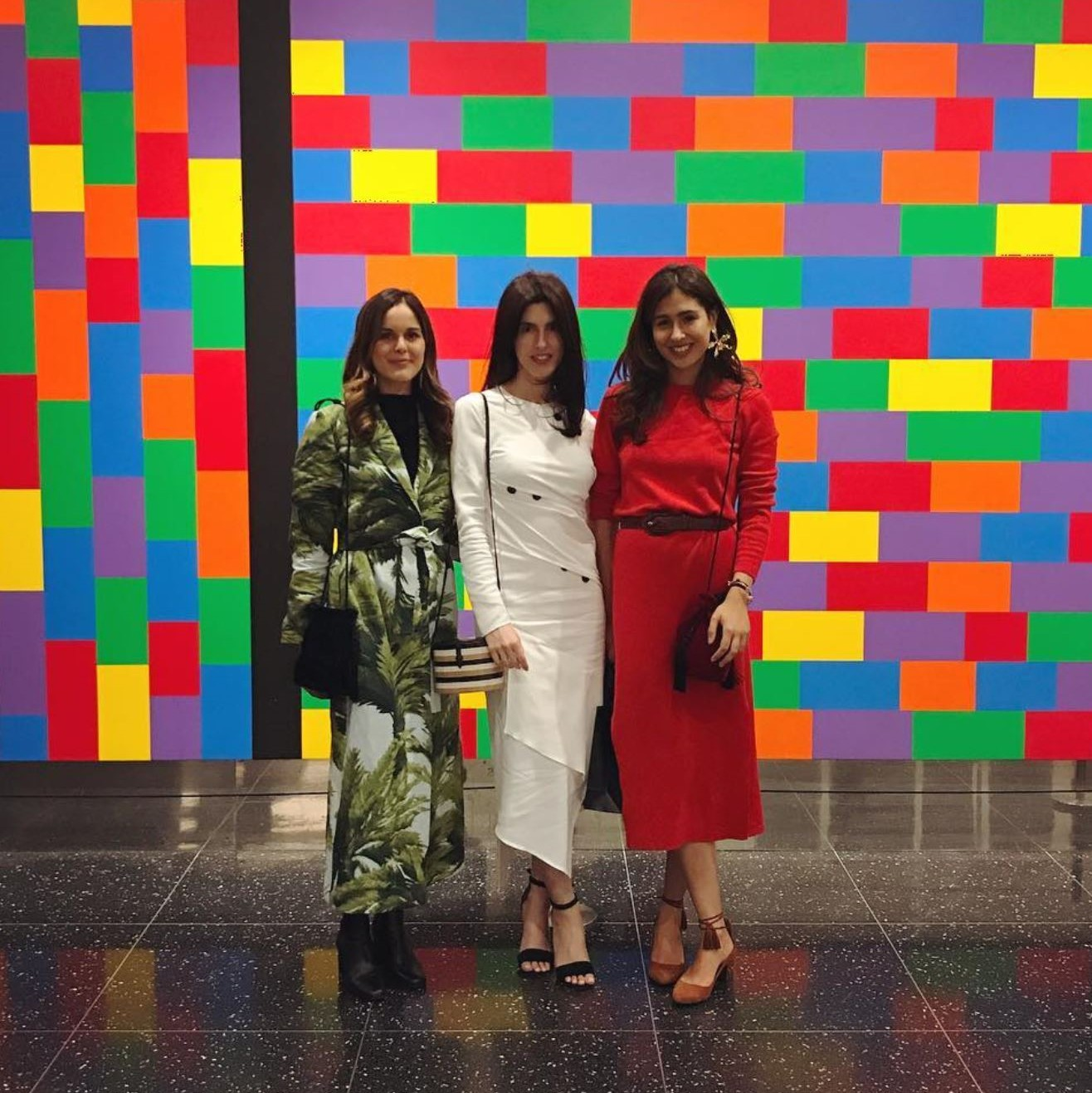 GIOVANNA CAMPAGNA and DANIELLE CORONA  #designer #huntingseason #creoconsulting #almagirl #girlboss  @ Carolina Herrera Runway Show NYFW