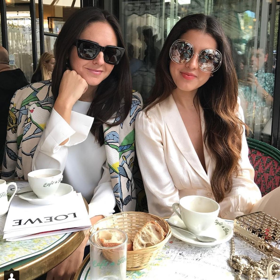 BRENDA DIAZ DE LA VEGA - Dos Loros Kimono  #Co-founder #buro24/7 #luvit #CEO #almagirl #girlboss  @ Paris Fashion Week
