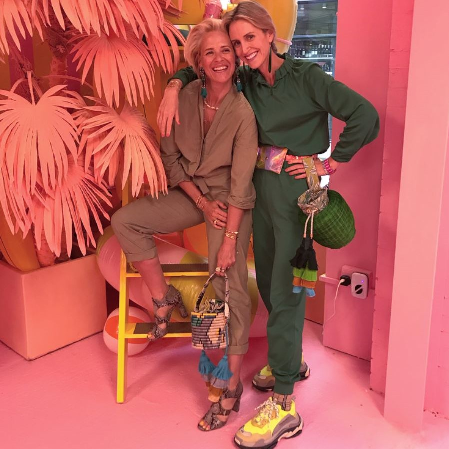 BELMA GAUDIO and DEBORAH BRETT - Hand bags  #Conceptstore #editor #britishfashioncouncil #almgairl #girlboss  @ Koibird, Belma's store in London