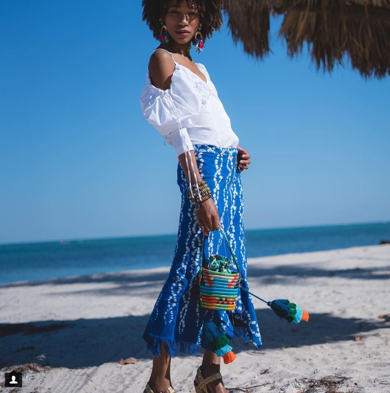 KAMLAKAY - Jungla Bucket Bag  #Model # Model Coach  @ Miami