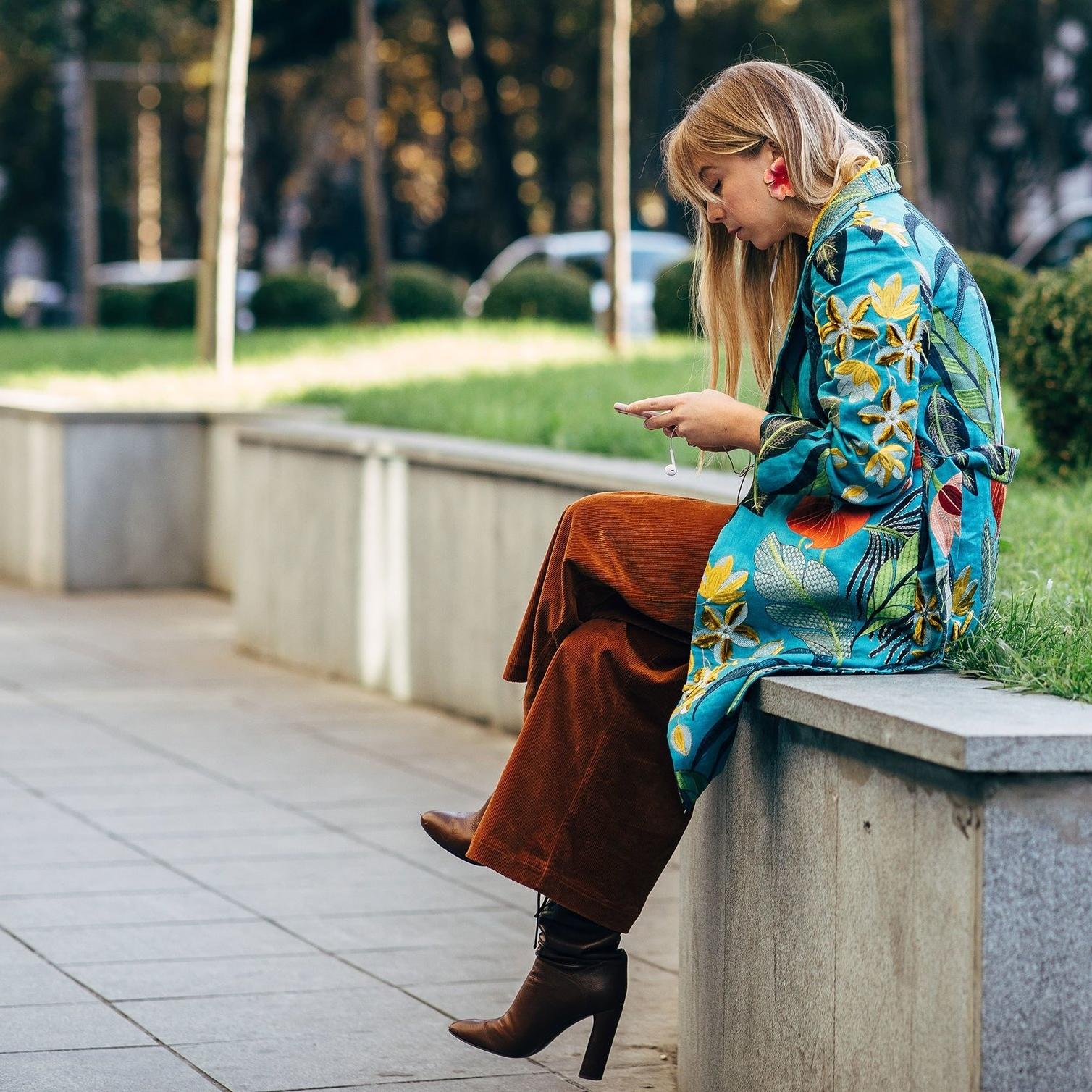 CHLOE KING - Rio Kimono Short  #socialmediamogul #almagirl #girlboss  @ Tbilsi Fashion Week