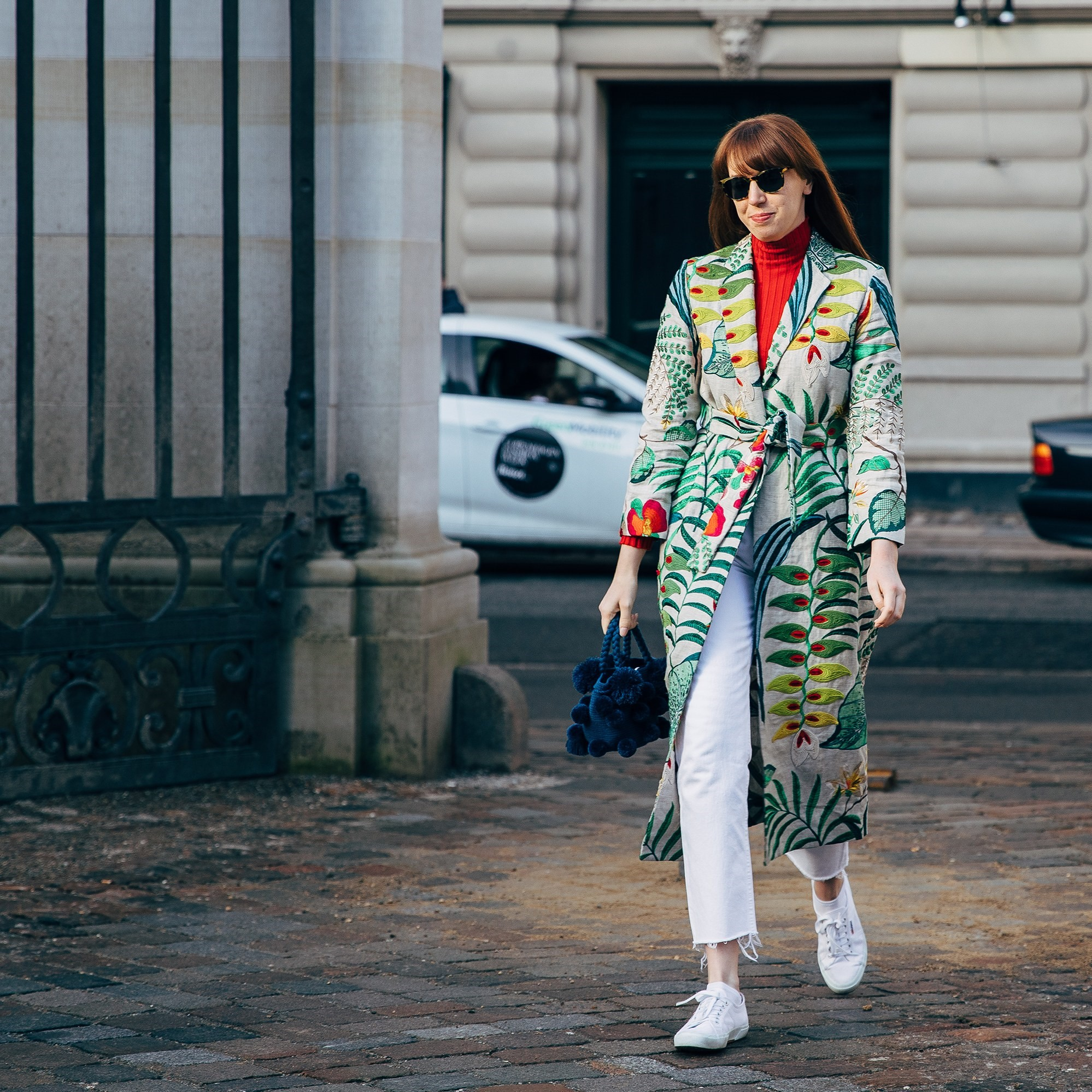 ERIN FITZPATRICK - Heliconias Kimono  #SeniorNewsEditor # @whowhatwear  #LA #almagirl #girlboss  @Copenhaguen Fashion Week