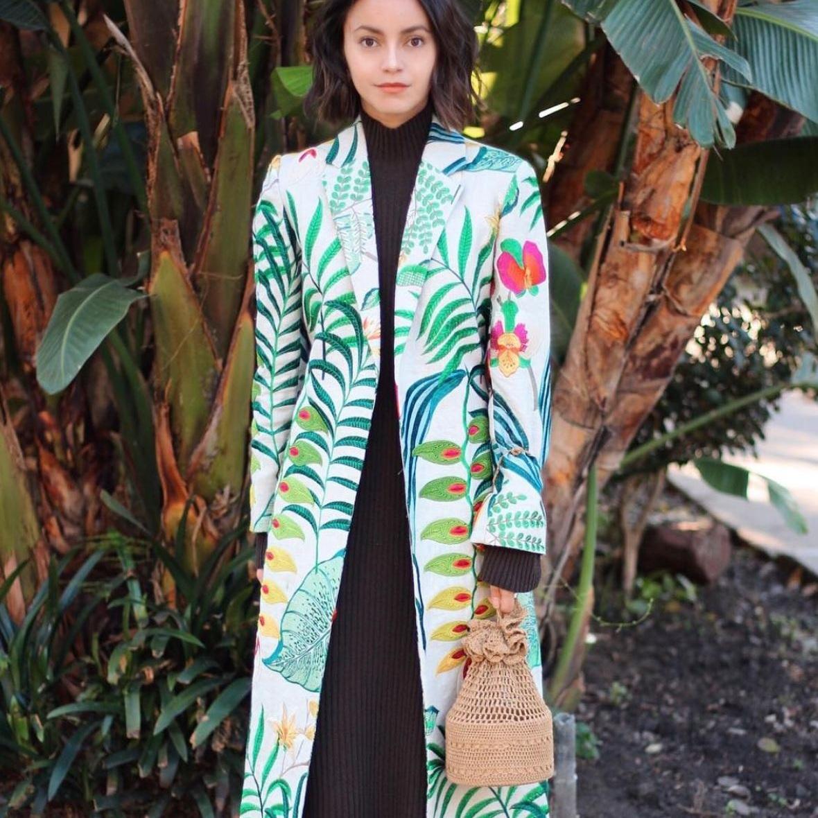 KATRINA RAZON - Heliconias Kimono  #almagirl #girlboss  @Los Angeles