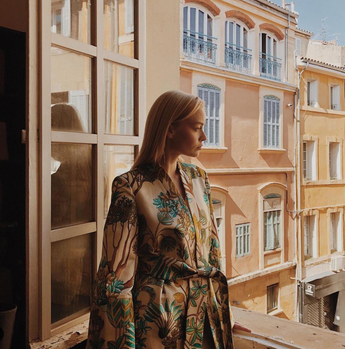 EMMA HOUV - Selvatica Biright Robe  #almagirl #girlboss  @South of France