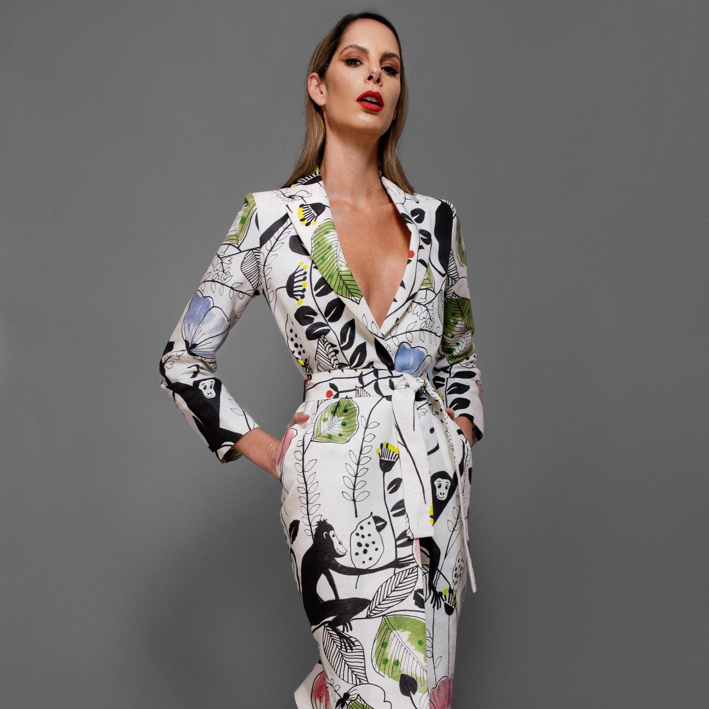 JULIETA PIÑERES - El Jardin y la Fiesta Kimono  #model #tvhost #almagirl #girlboss  @ Bogota, Colombia