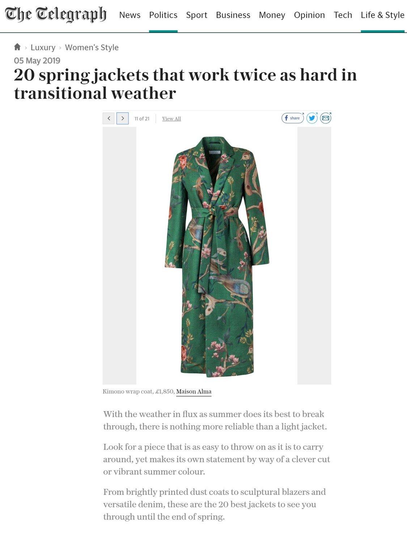 2019 - May - The Telegraph spring jackets.jpg