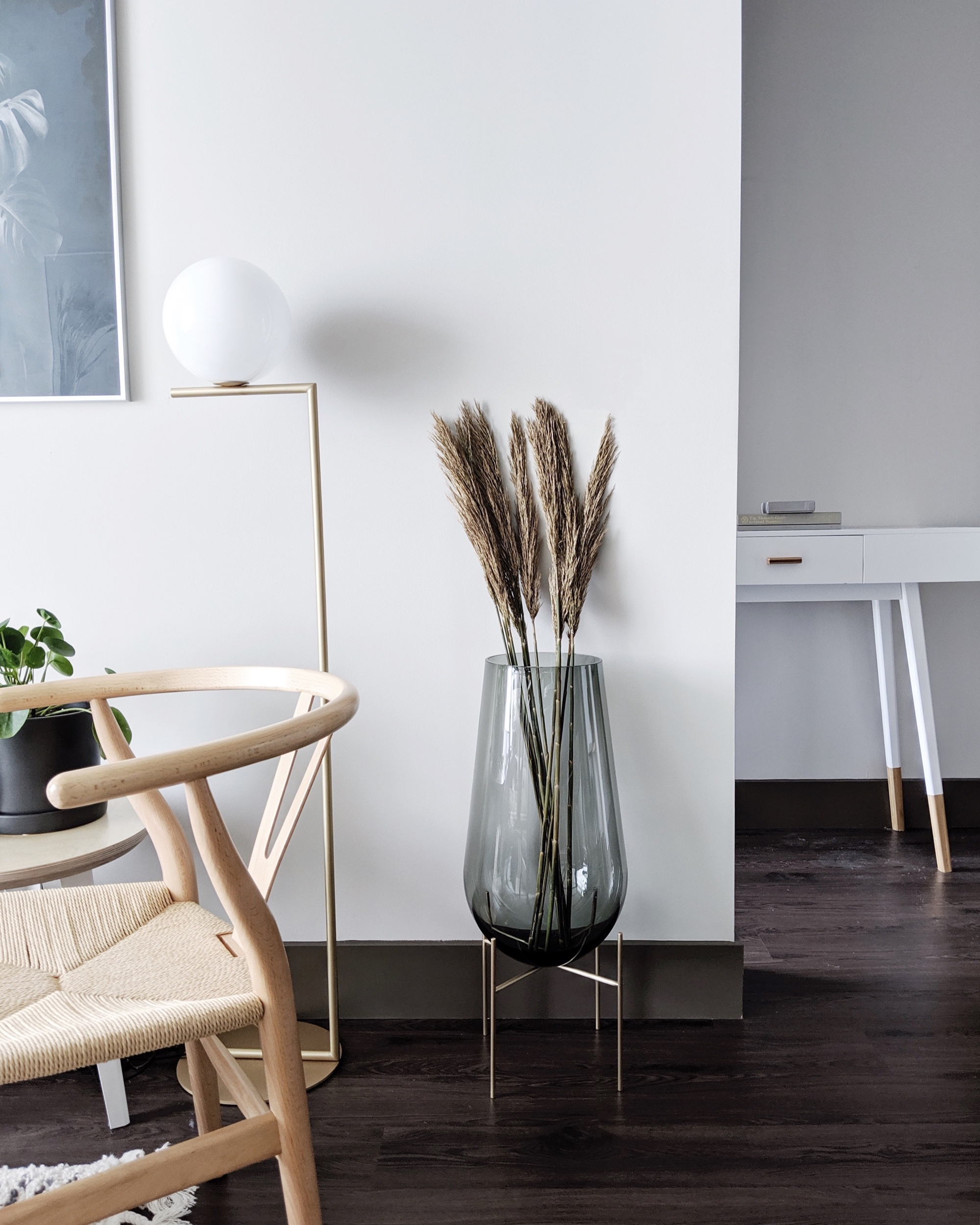 Vase  |  Lamp  |  Chair  |  Plant  |  Features gifted products