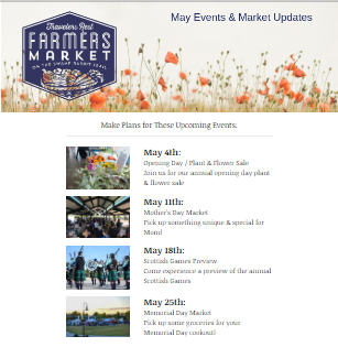 MAY MONTHLY NEWSLETTER