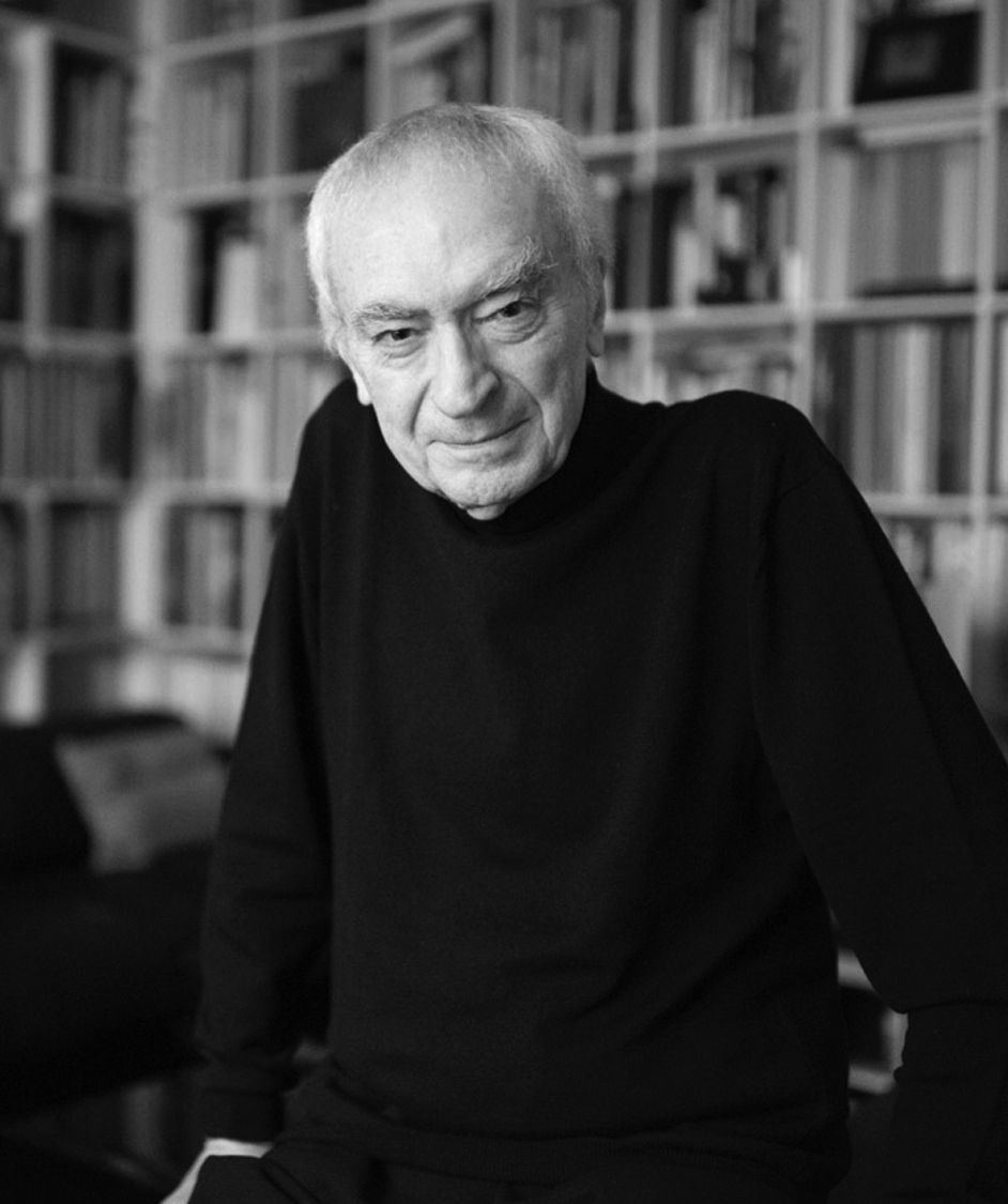 Massimo Vignelli in his Manhattan studio.