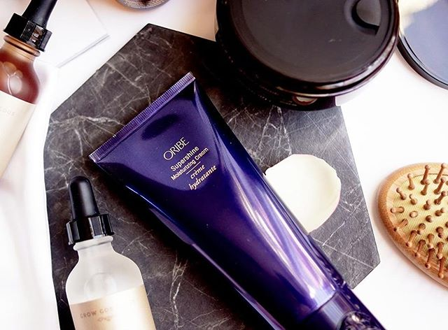 "In stock @sirensalon - our best selling Supershine Moisturizing Cream by @oribe.⁣ ⁣ A luxe reinvention of leave-in conditioner, this supreme cream satisfies the thirstiest hair, calming frizz, elevating shine and restoring hair to supernatural softness.⁣ Especially loved by medium-to-thick and extra-long hair.⁣ ⁣ ""I apply a dime size amount to damp hair, ears down, as a nourishing foundation before blow drying.  It performs well as a heat protectant, smooths away frizz and provides moisture and shine. Clients love it."" - Siren Stylist⁣ ⁣ •⁣ •⁣ •⁣ •⁣ •⁣ #oribeobsessed #oribesupershine #cleanbeauty #selfcare #wellness #beauty #greenbeauty #nontoxicbeauty #detoxbeauty #ethicalbeauty⁣ #beautyessentials #ecoluxe #greenbeautyproducts #naturalingredients⁣ #toxinfree #slowbeauty⁣ #naturallysourced #sustainablychic #results #efficacy⁣ #skinhealth #foreveryoung ⁣ #fountainofyouth #naturalbeauty #indiebeauty⁣  #glowgirl #multitasking⁣ #apothecary #selfcare #certifiedsustainable⁣"
