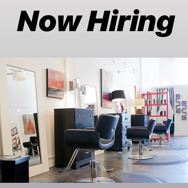 Seeking a licensed stylist and assistant to join the Siren team! We're a luxury salon and apothecary with a relaxed downtown vibe. Friendly, supportive team and a beautiful work environment. Clean indie beauty knowledge preferred. Write us info@sirensalon.net to inquire!
